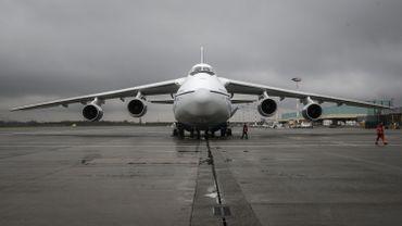 L'aéroport a transporté l'année dernière 536.000 tonnes de fret par avion et a connu une hausse de 18% du transport de produits pharmaceutiques.