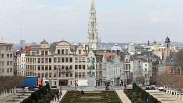 Le Mont des Arts, à Bruxelles