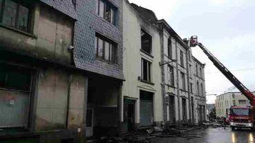 Plusieurs bâtiments ont été endommagés