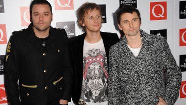 Les rockers anglais du groupe Muse