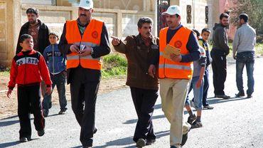 L'attentat à damas a lieu alors que les observateurs de la Ligue arabe poursuivent leur mission