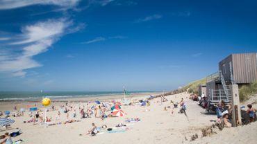 La plage de Bredene.