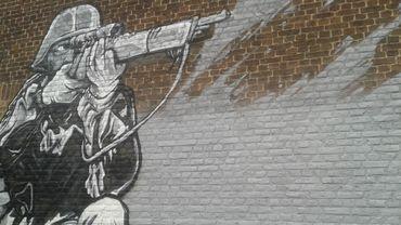 Une partie de la fresque jugée trop agressive par certains riverains
