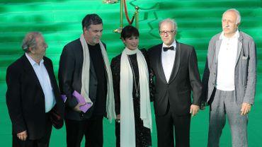 Le réalisateur hongrois Karoly Makk, le réalisateur israélien Amos Gitai, l'actrice américaine Geraldine Chaplin, le réalisateur et écrivain espagnol Javier Martín-Domínguez et le réalisateur russe Nikolay Dostal