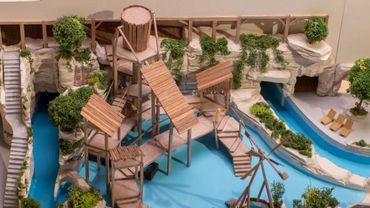 Bellewaerde présente les toboggans de son futur parc aquatique