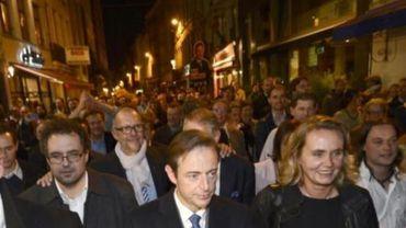 La marche de De Wever sur Anvers a des relents inquiétants, selon Magnette