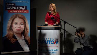 Présidentielle slovaque: la libérale Caputova contre Sefcovic au second tour