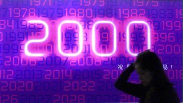 Le bug de l'an 2000 à l'origine de nombreux plantages au 1er janvier 2020.