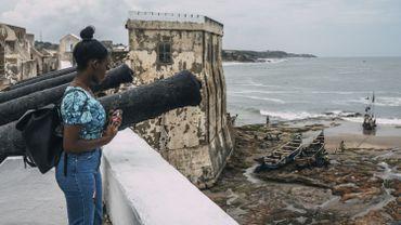 Le fort de Cape Coast, à 150 km au sud-ouest de la capitale Accra, est prisé des visiteurs.