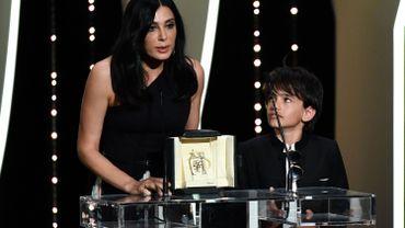 """Nadine Labaki, prix du jury à Cannes, appelle à agir pour """"l'enfance mal aimée"""""""