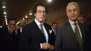 Hosni Farouk (à gauche) a été acquitté par un tribunal égyptien