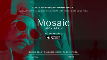 Mosaic : la première série interactive grand public ?