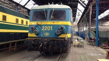 L'Espace Train, c'est 6000 m² de machines et matériel ferroviaires.