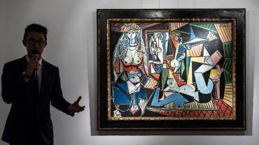 """""""Les Femmes d'Alger"""" de Pablo Picasso"""