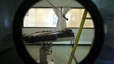 Une chambre d'exécution pour injection létale