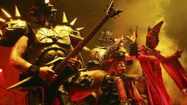 """Le groupe Gwar à New York en 2007 durant le """"Viva La Bam Tour""""."""