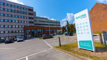Le site de Baudour de l'hôpital Epicura