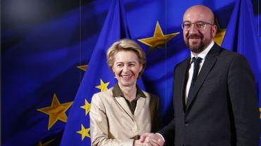 Charles Michel et Ursula von der Leyen