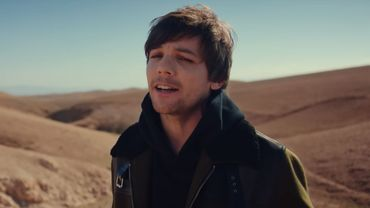 "Louis Tomlinson dans le clip de ""Walls""."