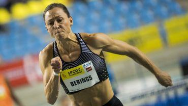 Eline Berings a réussi le minimum européen en salle sur 60 mètres haies