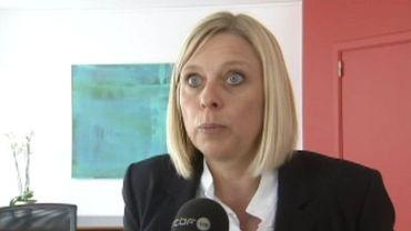 Eliane Tillieux, ministre de l'Action sociale