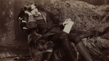 """Portrait d' Oscar Wilde"" par Napoleon Sarony (1821-1896), 1882"