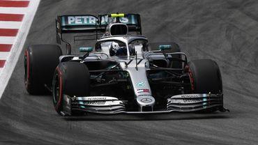 Bottas domine à nouveau Hamilton et s'installe en pole à Barcelone