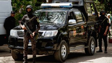 Egypte: cinq policiers tués dans une attaque au sud du Caire