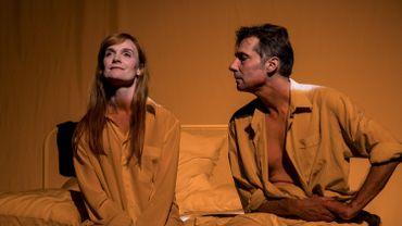 Encore une histoire d'amour de Thomas Gunzig - Mise en scène : David Strosberg avec Anne-Pascale Clairembourg et Alexandre Trocki