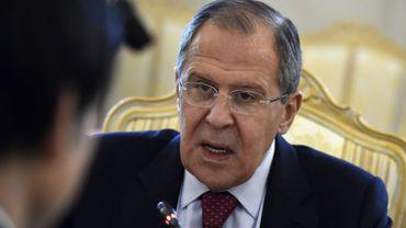 Le ministre russe des Affaires étrangères, Sergueï Lavrov, le 13 juin 2016 à Moscou