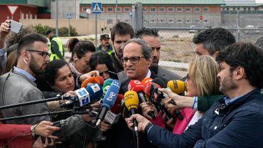 Crise en Catalogne: le président catalan forme un gouvernement sans prisonniers ni exilés