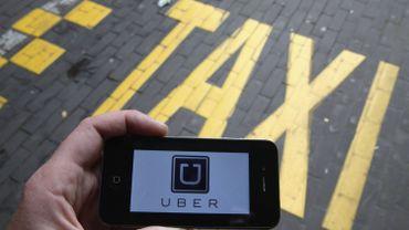 L'application pour smartphone Uber