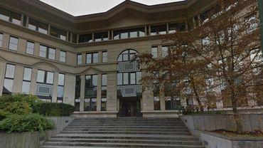 Le bâtiment de la justice de paix d'Auderghem