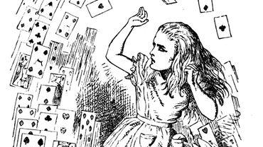 """L'histoire des """"Aventures souterraines d'Alice"""" est celle racontée un jour d'été 1862 par Charles Dodgson pendant une promenade en barque sur la Tamise avec les trois filles (Lorina, Alice et Edith Liddell)."""