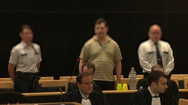 Cédric Maton, accusé du meurtre de Laeticia Bauwens devant la Cour d'Assises à Mons.