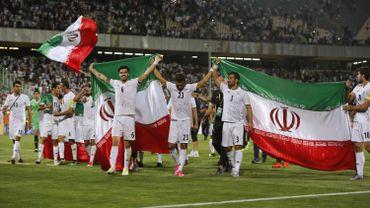 Les joueurs iraniens