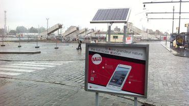 Une application mobile pour voir la future gare de Mons en réalité augmentée