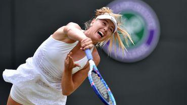 Sharapova ne demandera pas d'invitation pour Wimbledon