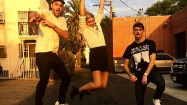 Louane enregistre un titre avec le duo new-yorkais Chainsmokers !