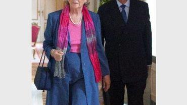 Albert et Paola fêtent leur 52e anniversaire de mariage à Monaco