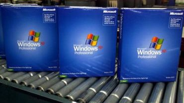 Exemplaires de Windows XP
