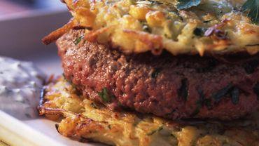 Hamburger aux légumes