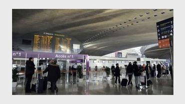 Un terminal de l'aéroport de Roissy, près de Paris, le 7 février 2012
