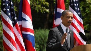 Barack Obama le 25 mai 2011 à Londres