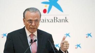 Le PDG de CaixaBank Isidro Faine à Madrid le 1er juillet 2011