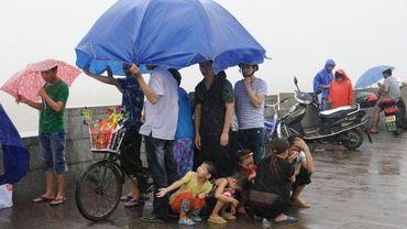 Le troisième typhon en une semaine en Chine