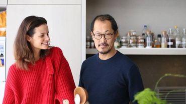 En cuisine avec Charlotte Collard et le chef Sang Hoon Degeimbre