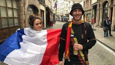 """Les Français de Belgique """"redoutent que les Belges deviennent arrogants comme eux s'ils gagnent"""""""