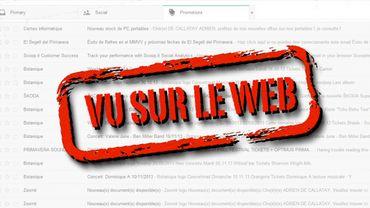 Les newsletters désormais moins visibles dans la boite Gmail