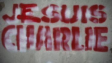 "Graffiti ""Je suis Charlie"""